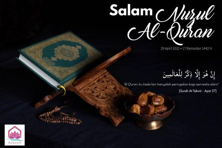 Peristiwa Nuzul Al-quran Merupakan Peristiwa Turunnya Ayat Al-qur\'an