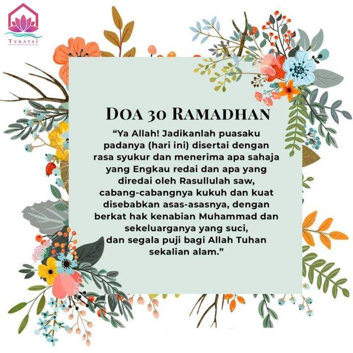 Ramadhan Yang Penuh Dengan Rahmat Dan Ampunan Dari