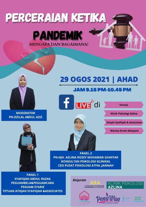 [perceraian Ketika Pandemik: Mengapa Dan Bagaimana?]