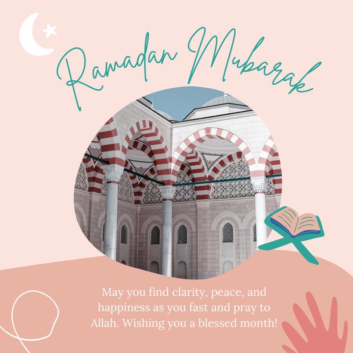 Wishing Ramadan Mubarak