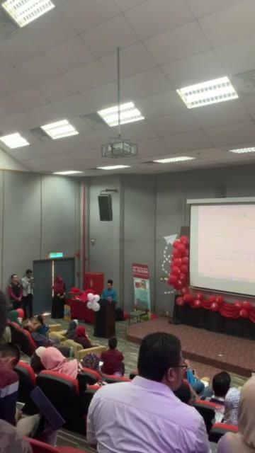 Persembahan Bacaan Al Quran Di Majlis Anugerah