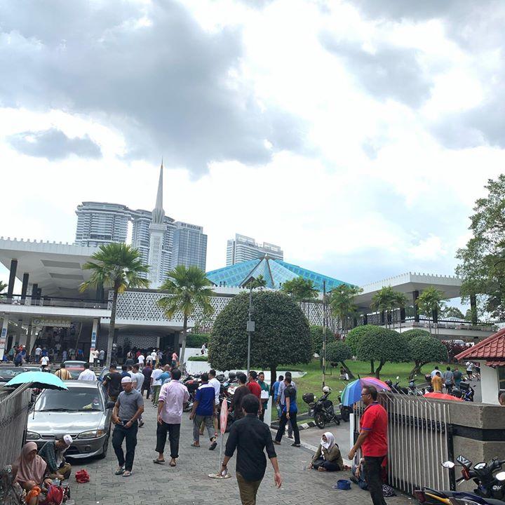 Solat Jumaat Di Masjid Negara  @ Masjid