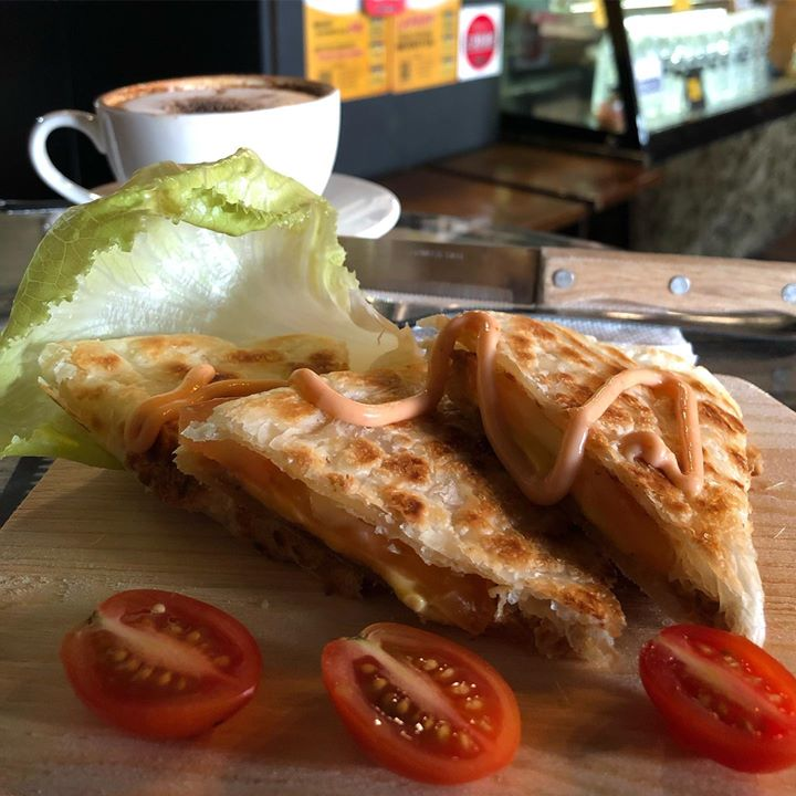 Have You Tasted Our Paratha Tuna Cheese ..