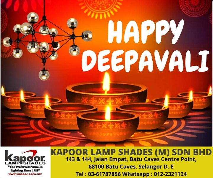 Happy Deepavali To All Our Friends And Valued