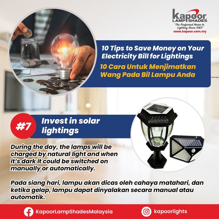 10 Tips To Save Money On Your Electricity