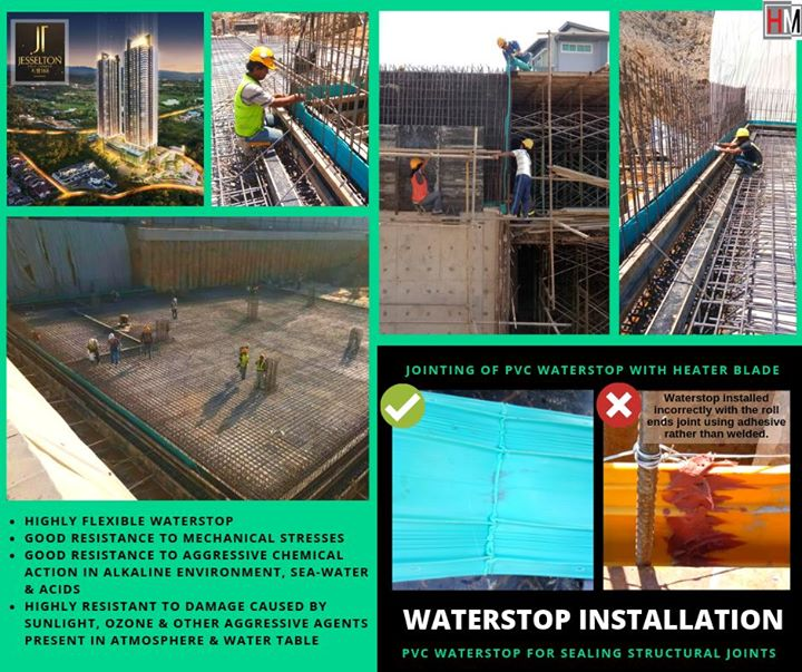 Waterstop Installation Done Right To Prevent Any Seepage