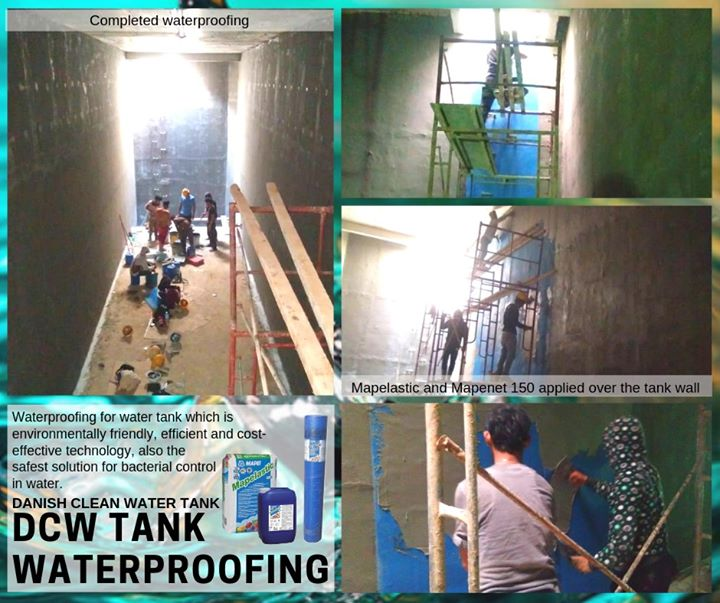 Dcw Tank Waterproofing System That Is In Direct