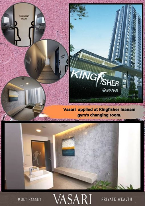 Vasari Workdone At Kingfisher Inanam S Gym Changing