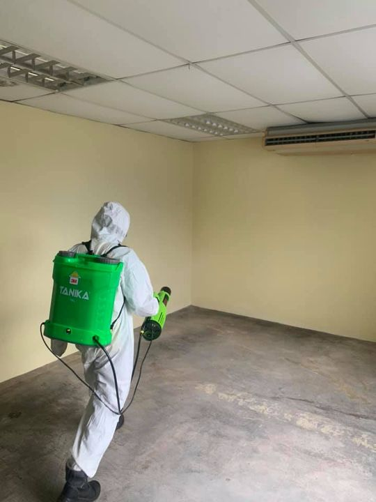 Done Disinfection Service At A Food Production Company