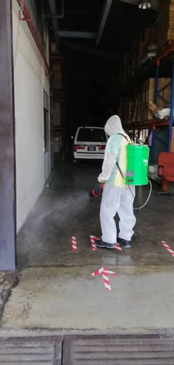 Done Disinfection Service At Manufacturing Companies .