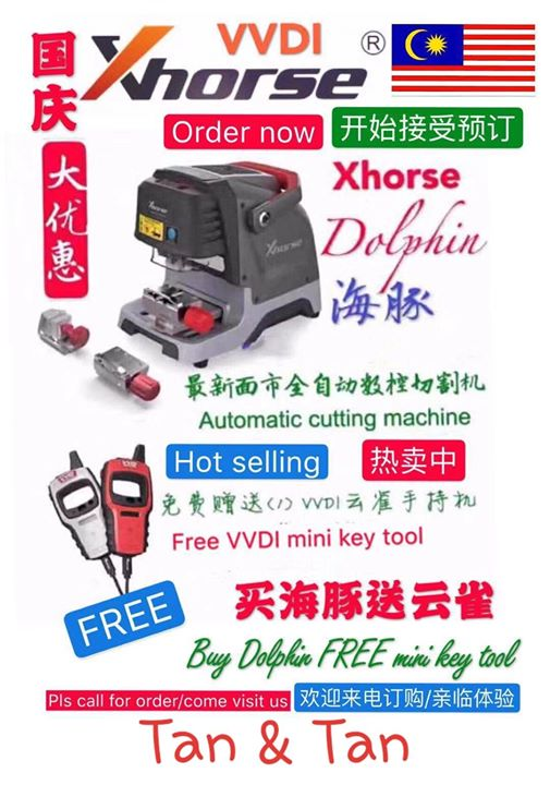 Xhorse Dolphin Order Now Offer Now For Merdeka