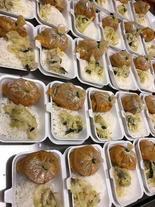 Nasi Putih Kari Ayam 100 Pek Alhamdulillah