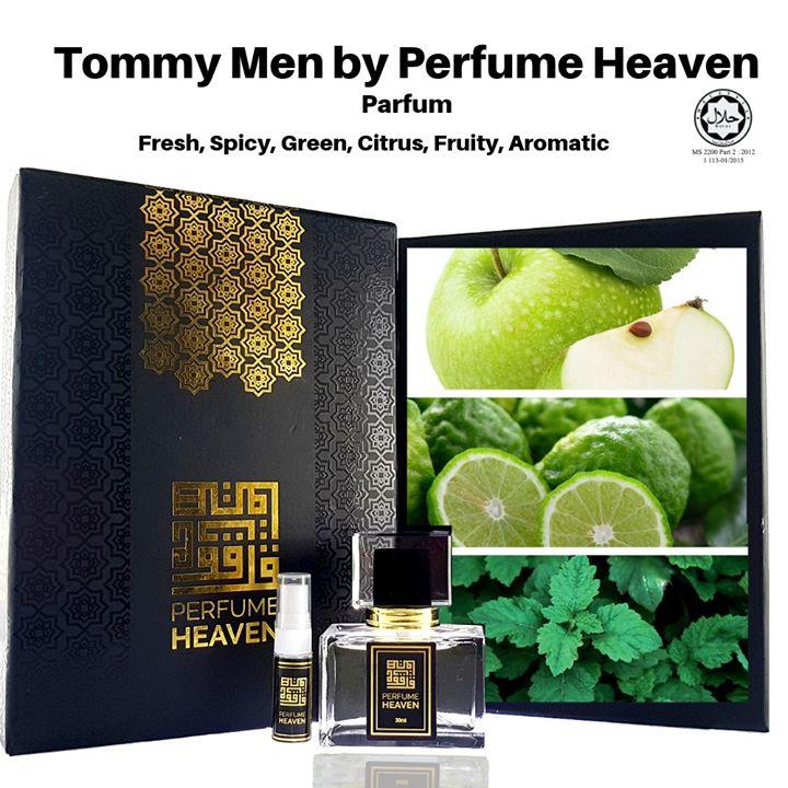 Tommy Men By Perfume Heaven Main Accords Fresh