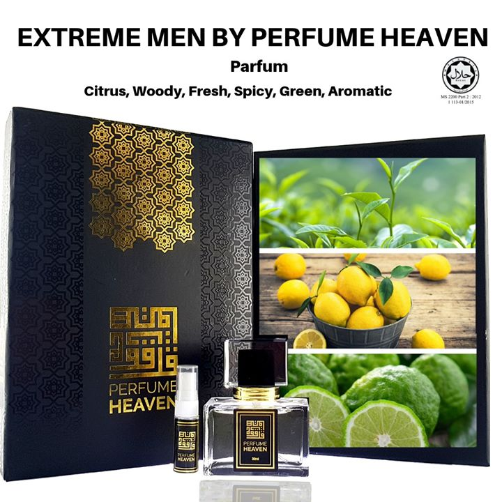 Extreme Men By Perfume Heaven Main Accords Citrus