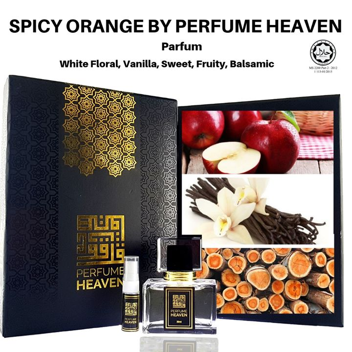 Spicy Orange By Perfume Heaven Main Accords White