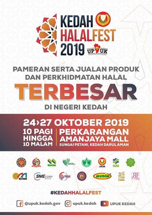 Alhamdulillah, Jumpa Kami Di Pameran Kedah Halal Fest
