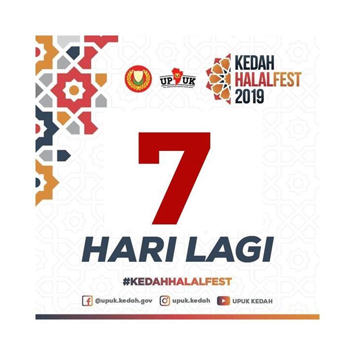 7 Hari Lagi Untuk Pameran Kedah Halal Fest