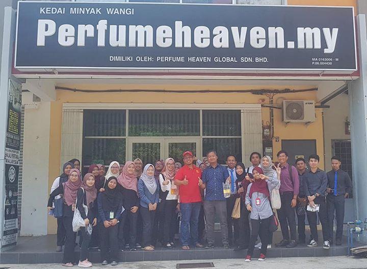 Lawatan Pelajar Uitm Segamat Johor
