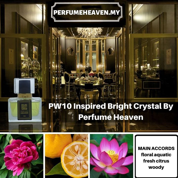 Pw10 Inspired Bright Crystal By Perfume Heaven