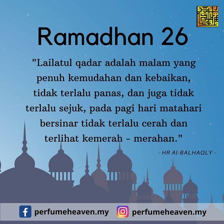 Ramadhan Ke 26