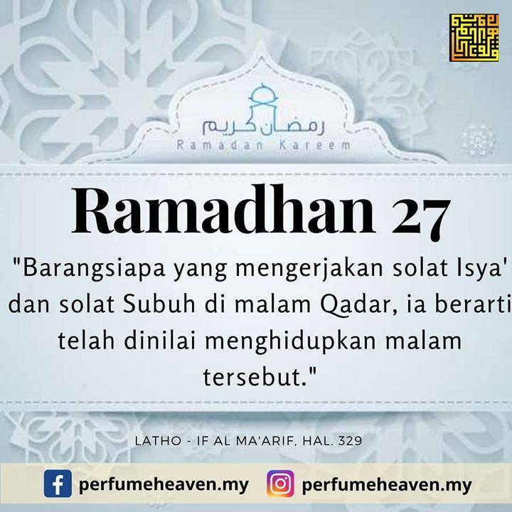 Ramadhan Ke 27