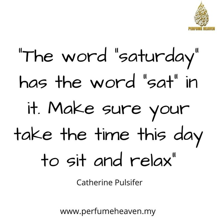 The Word Saturday Has The Word Sat In