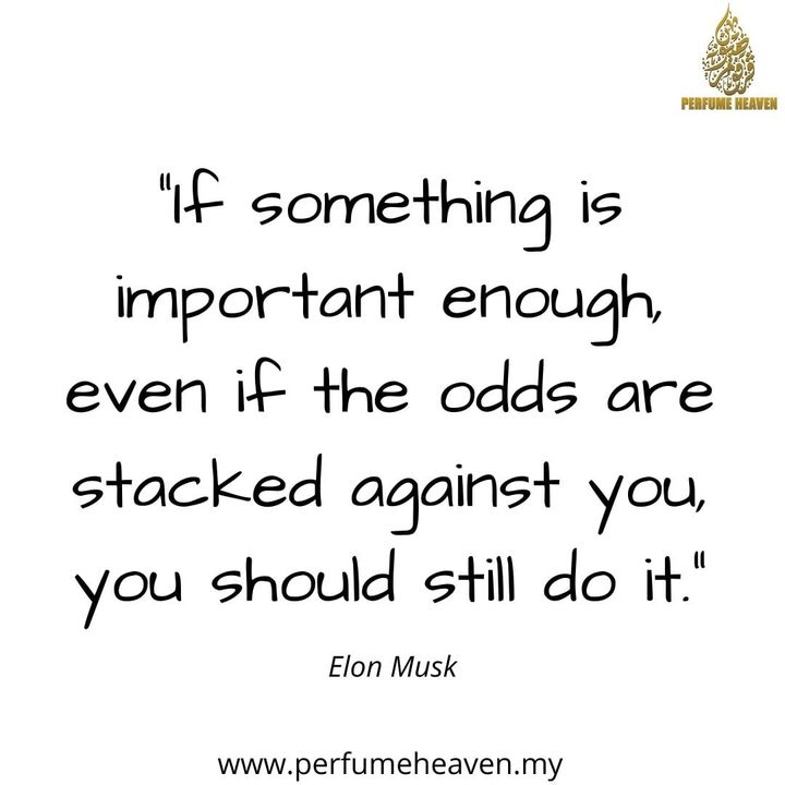 """""""if Something Is Important Enough, Even If The"""