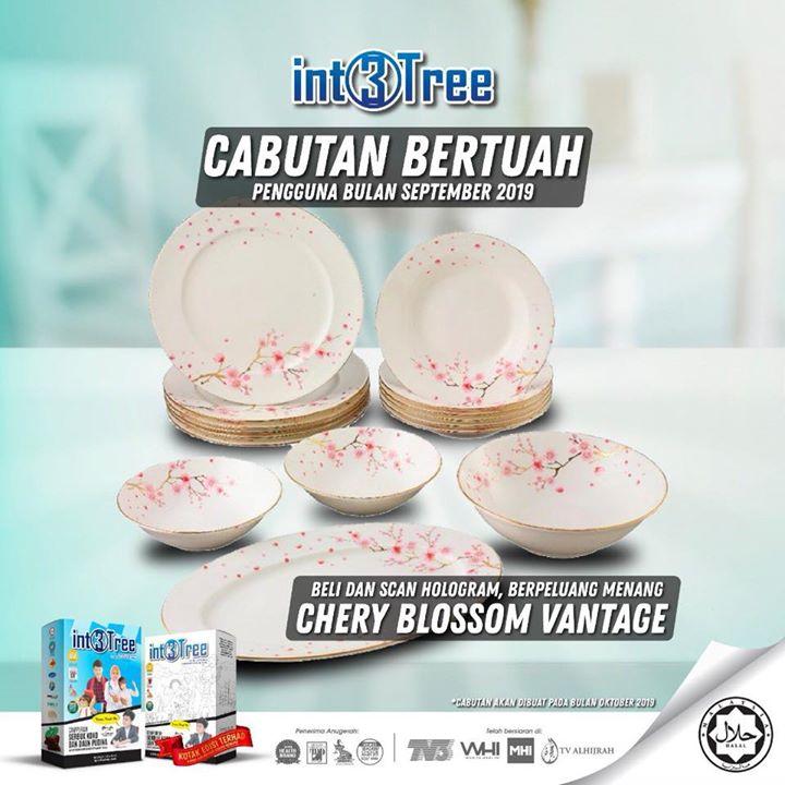 Beli Dan Menang Pinggan Mangkuk (chery Blossom Vantage)