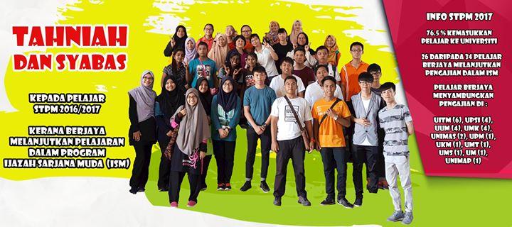 Tahniah Dan Syabas Kepada Pelajar Stpm Sesi 2016
