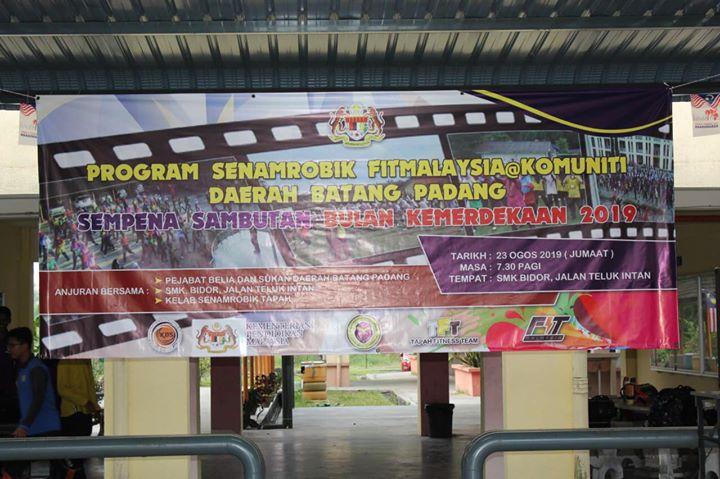 Program Senamrobik Fitmalaysia @ Komuniti Daerah Batang Padang