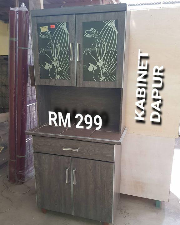Kabinet Dapur 2 Pintu Sesuai Untuk Yang Takde Kedai Perabot Kak Zah