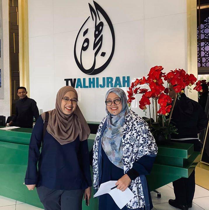 Insyaallah Kami Akan Live Di Tv Alhijrah Sekejap