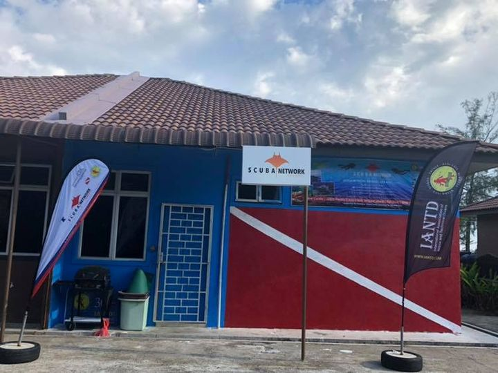 Our New Dive Centre Office At Ulek Beach