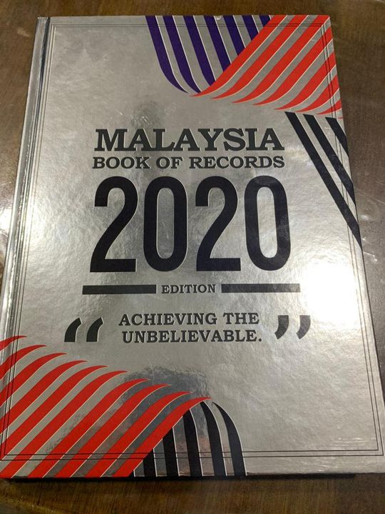 Thank You Very Much To Malaysia Book Of