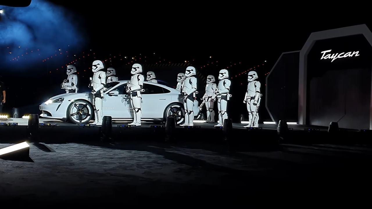 Acara Pelancaran Terhebat Pernah Kami Saksikan, Porsche Taycan