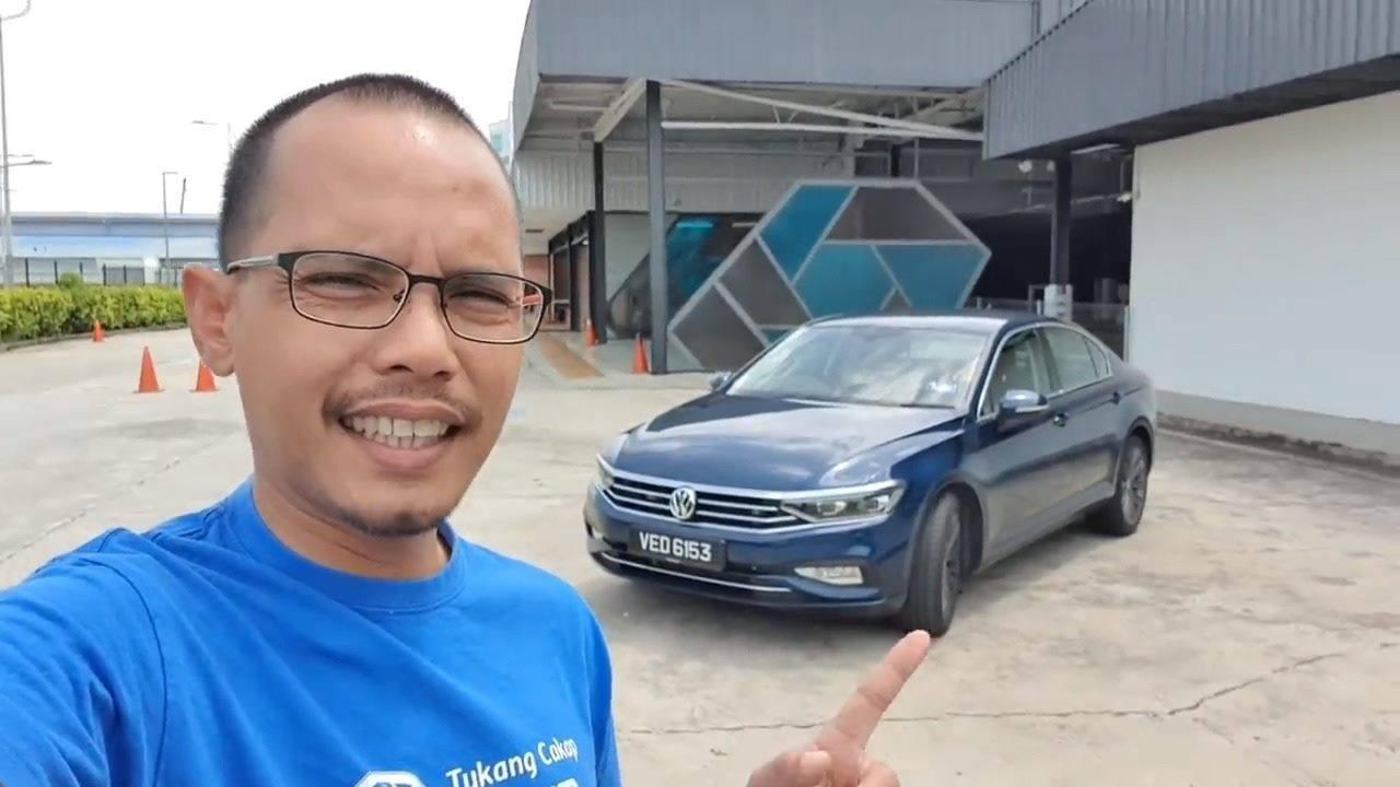 Volkswagen Passat 2020 Ulasan Uji Belek Pemanduan Roda
