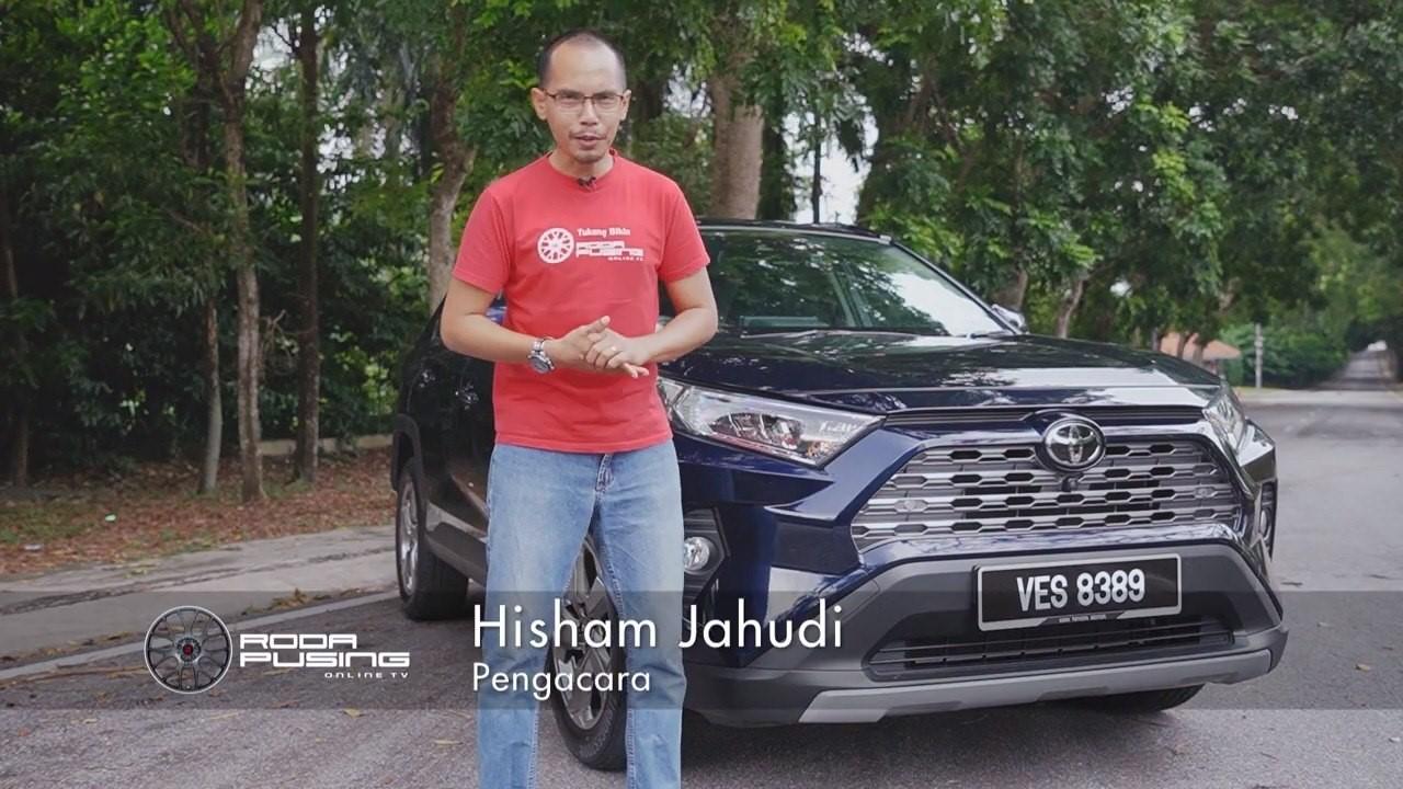 Toyota Rav4 2020 (bhg 1) Ulasan Uji Belek