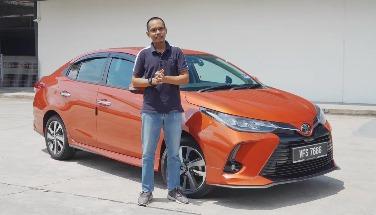Untuk Tahun 2021, Toyota Vios Telahpun Diperkemaskini Dan