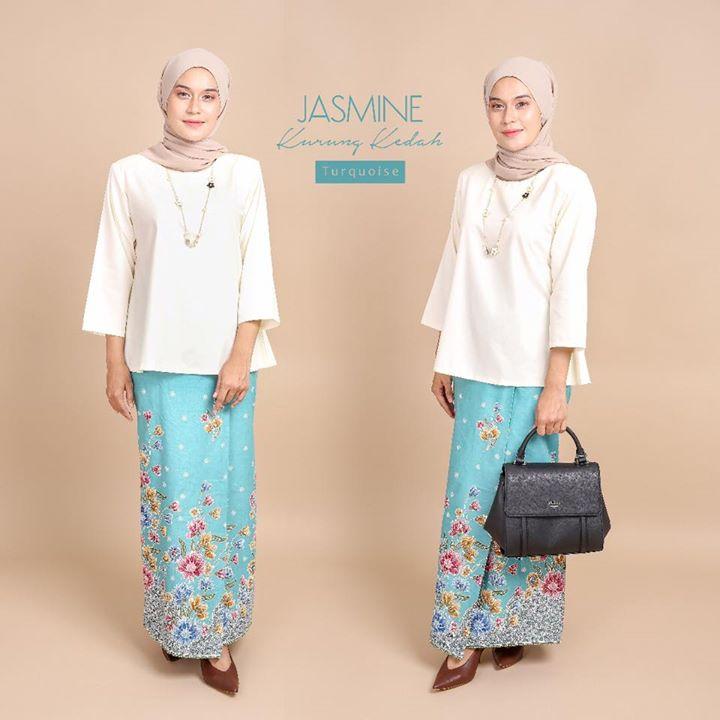 Jasmine Kurung Kedah Baju Tradisional Kurung Kedah Yg