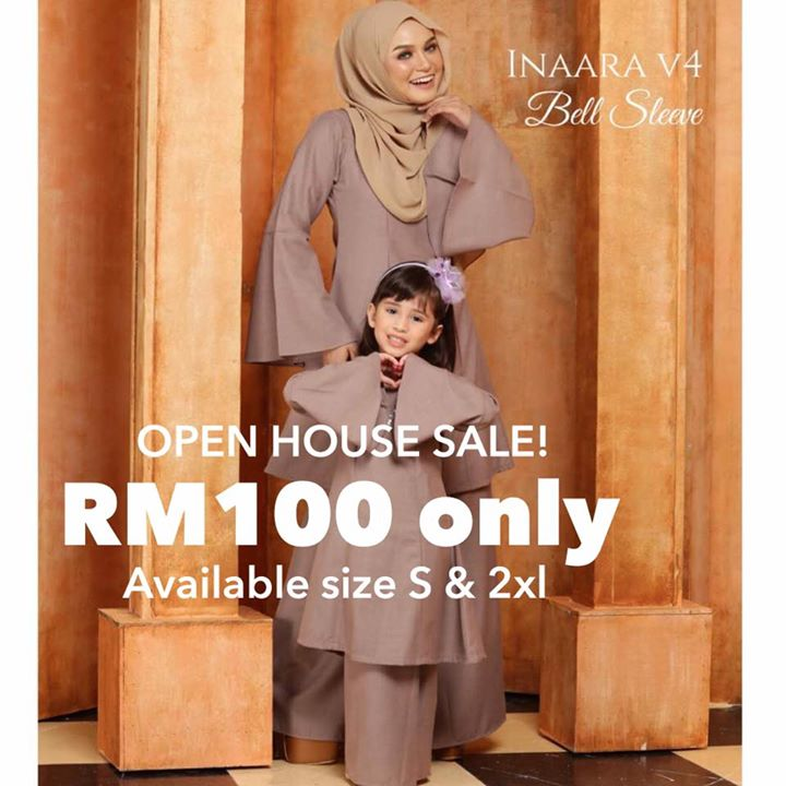Open House Sale Size Tak Bnyak Dah Whatsapp