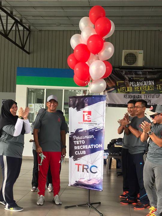 Pelancaran Teto Recreation Club & Kejohanan Tertutup Badminton