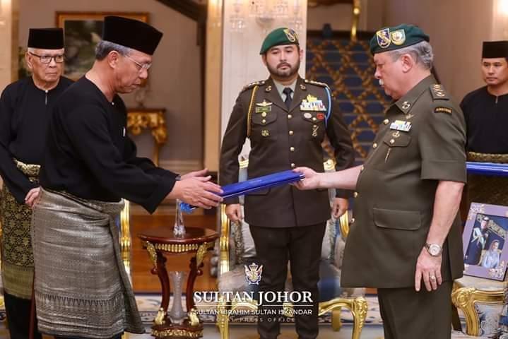 Setinggi-tinggi Tahniah Kepada Datuk Hasni Mohammad Sebagai Menteri