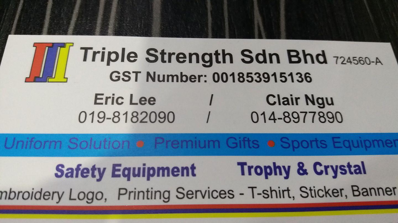 Home Triple Strength Sdn Bhd