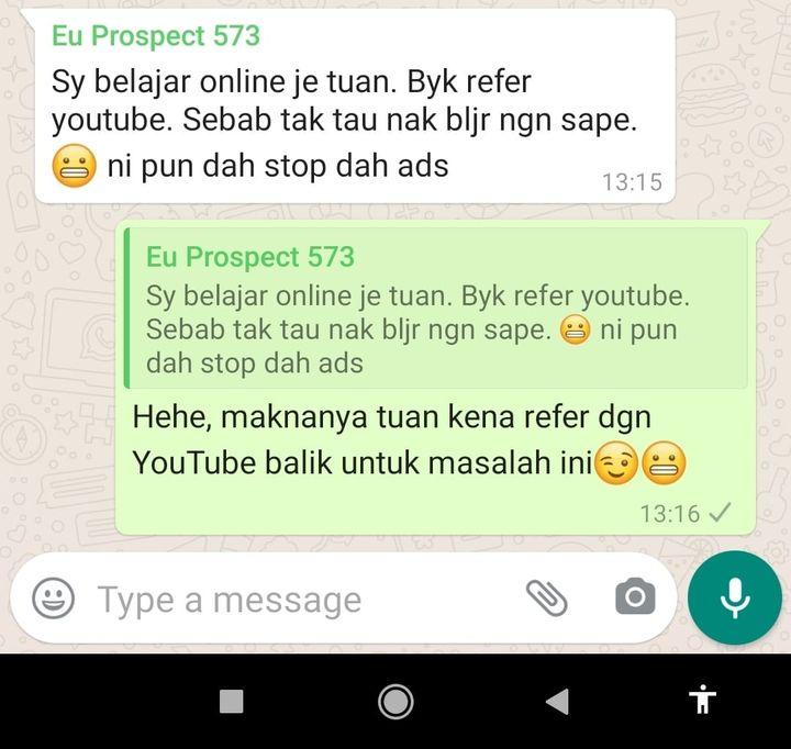 Nak Belajar Di Youtube Boleh Je..