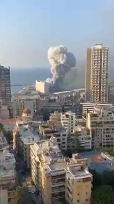 Apakah Yg Terjadi Di Beirut, Letupan Besar..