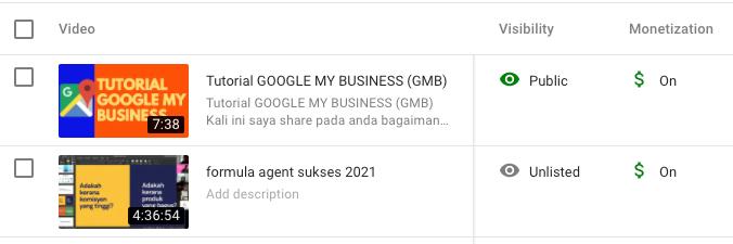 Ini Adalah Perbezaan Antara Channel Youtube Yang Telah
