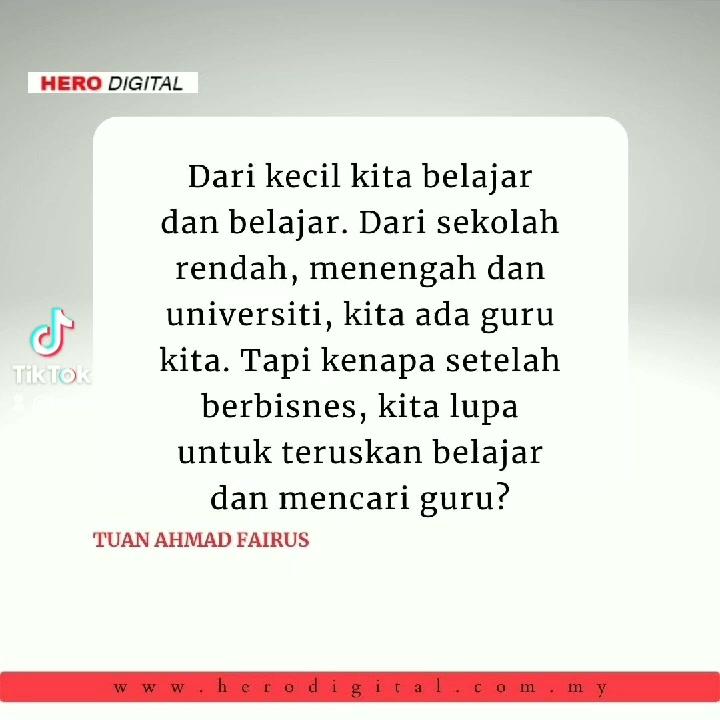 Kenapa Kita Perlu Ada Mentor? #usahawanmalaysia #motivationguru #tiktokguru