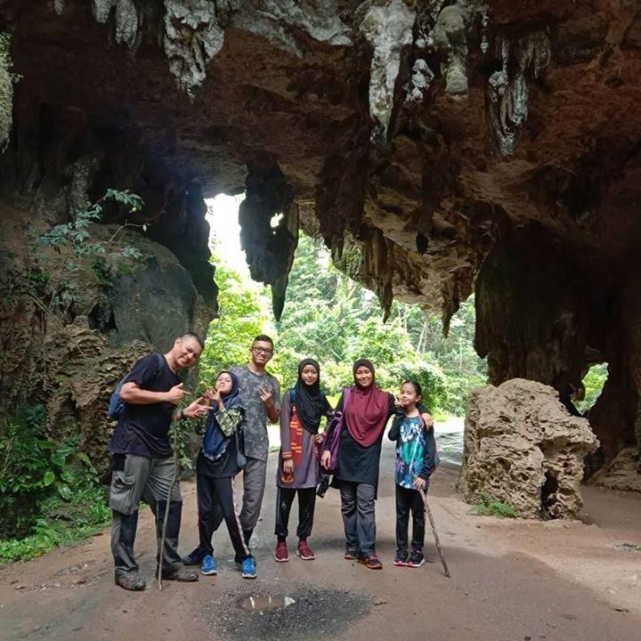 Gua Kota Gelanggi Cave Exploration.