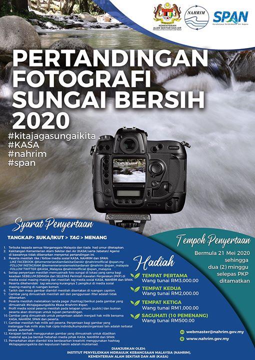 Pertandingan Fotografi Sungai Bersih 2020