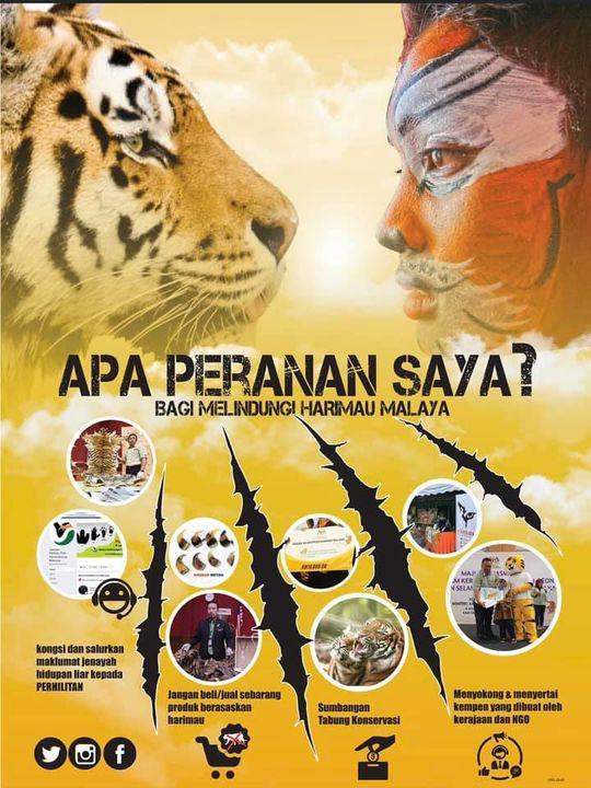 [kempen Selamatkan Harimau Malaya]